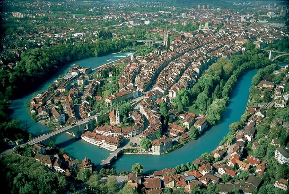 8: Bern, the de facto capital of Switzerland, follows Zurich amoworld's safest. (Image source: Wikimedia Commons)