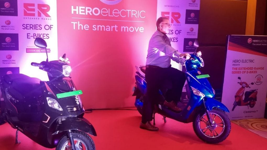 Hero Electric launches Optima ER and NYX ER electric scooters