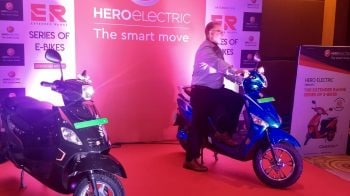 Poor scale is an issue under FAME-II, says Sohinder Gill of Hero Electric