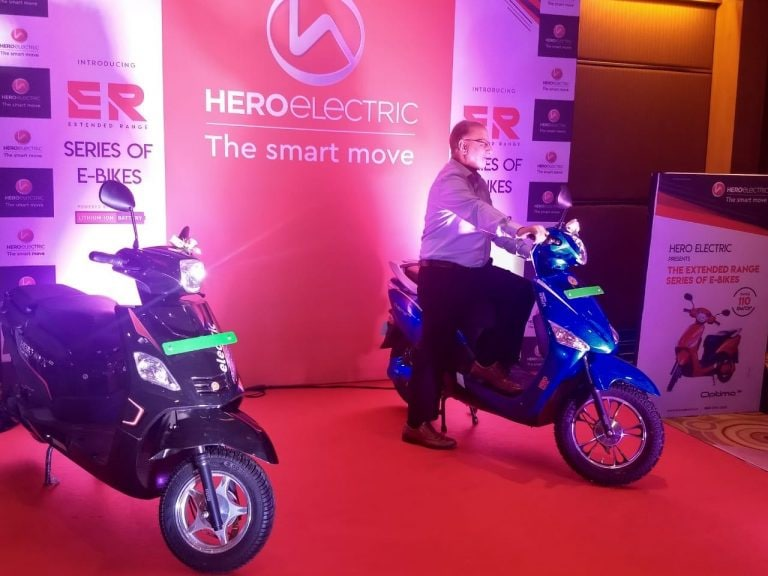 Hero Electric launches extended range variants of two-wheelers Optima and Nyx