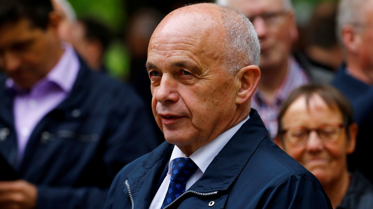 No 3 | Ueli Maurer - President of the Swiss Confederation | Annual salary: $482,958 (Image: Reuters)