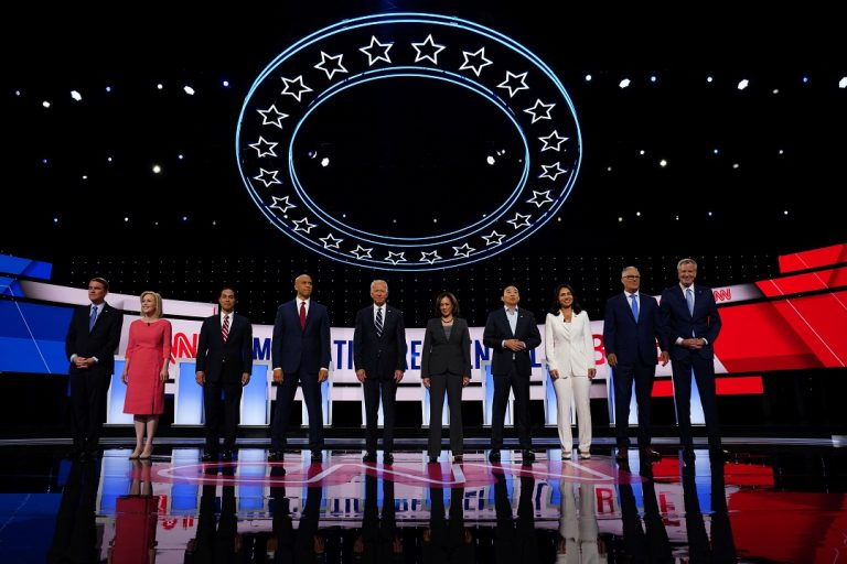 Democratic debate: Fiery exchanges over costs of health care between contenders