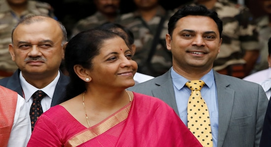 India's Finance Minister Nirmala Sitharaman