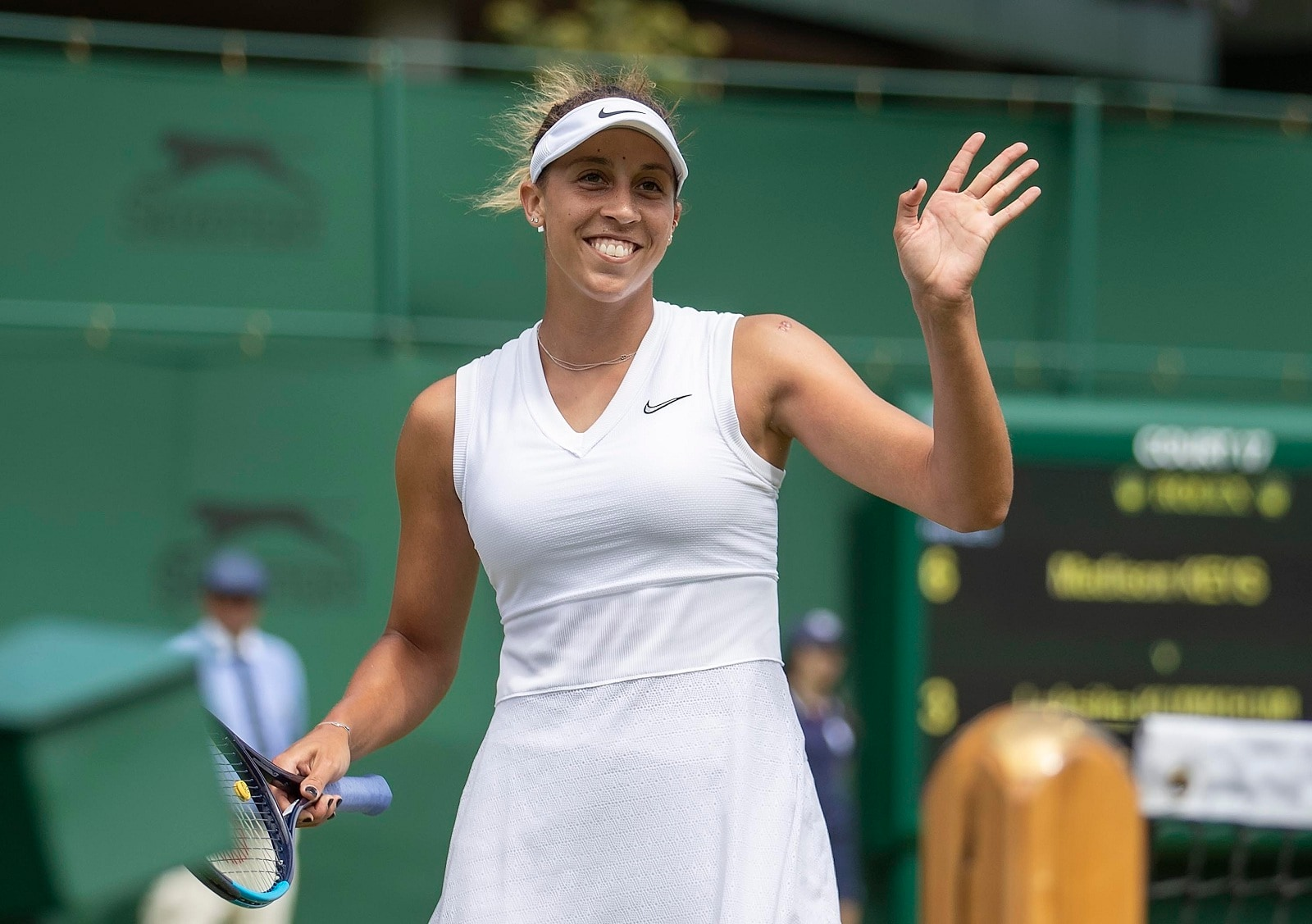 #13. Madison Keys (tie): Keys reached a pair of Grand Slam finals in 2018 (French Open and U.S. Open) and won her first clay court event of her career at the Charlestown Open this year. Nike is her biggest endorsement, and she also counts Evian, Wilson and Ultimate Software as partners. (Image: Reuters) (Caption Credit: Forbes)