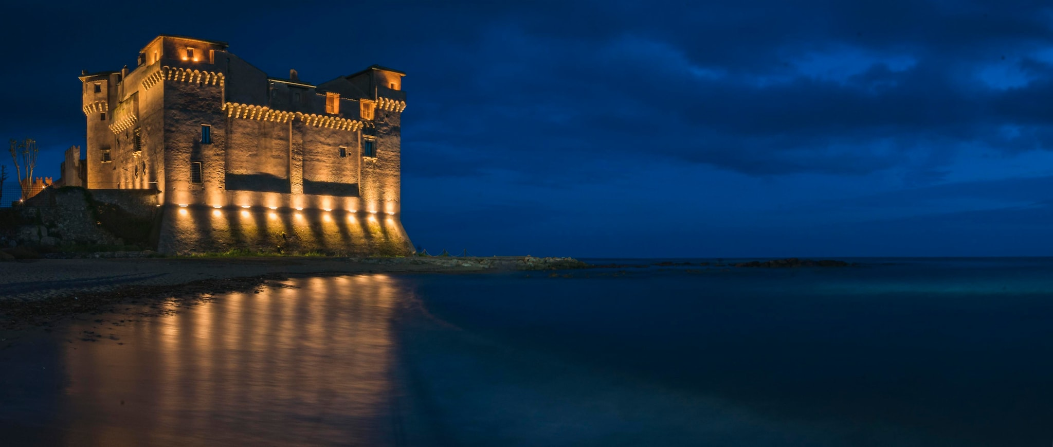 #10. Castello di Santa Severa, Santa Marinella, Italy: Want to stay in a medieval castle for less than $50 per night? Look no further than this 14th-century beachside citadel, which now functions as a hostel. The site—a short train ride from Rome—touts more than 2,000 years of fascinating history, with owners that ranged from the Catholic Church to Roman aristocracy. After four years of restoration, the castle and its adjacent buildings now function as a museum complex and hostel that sleeps 42. (Image: Stock)