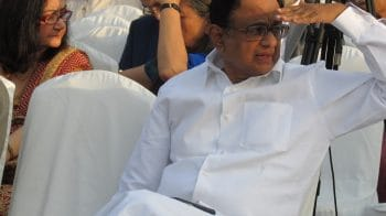 The Latest: P Chidambaram arrives at Congress headquarters