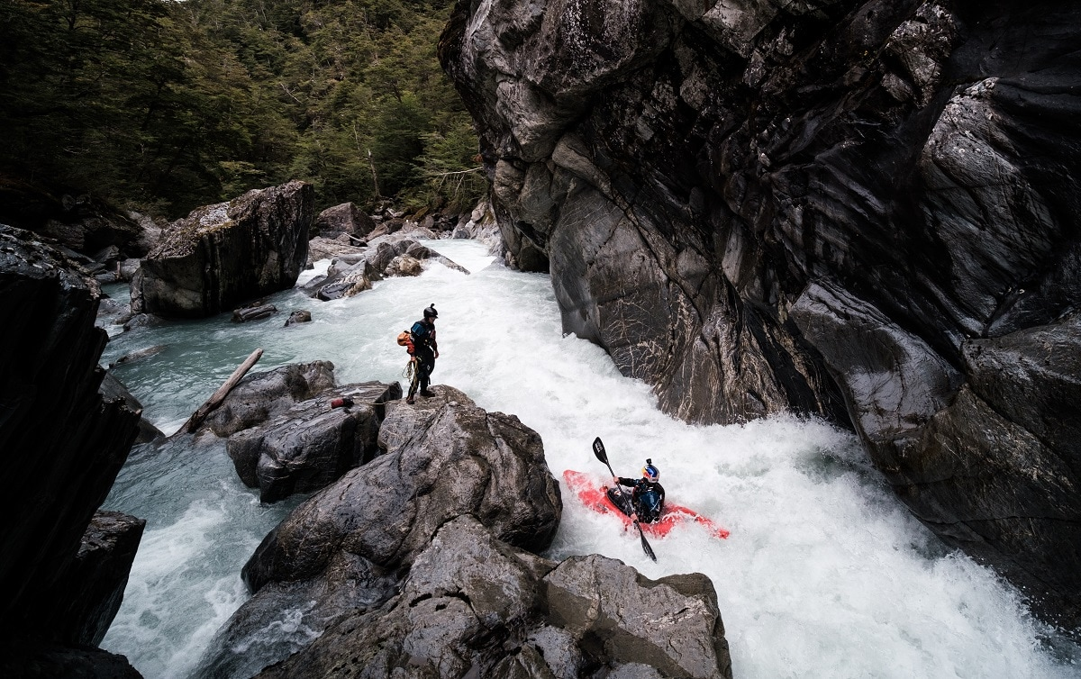 The main goal was to complete the triple crown of Patagonian kayaking – the Baker, the Bravo and the Pasqua, which had been attempted in 2017 by a team led Evan Garcia. (Reuters/ Erik Boomer / Red Bull Content Pool)