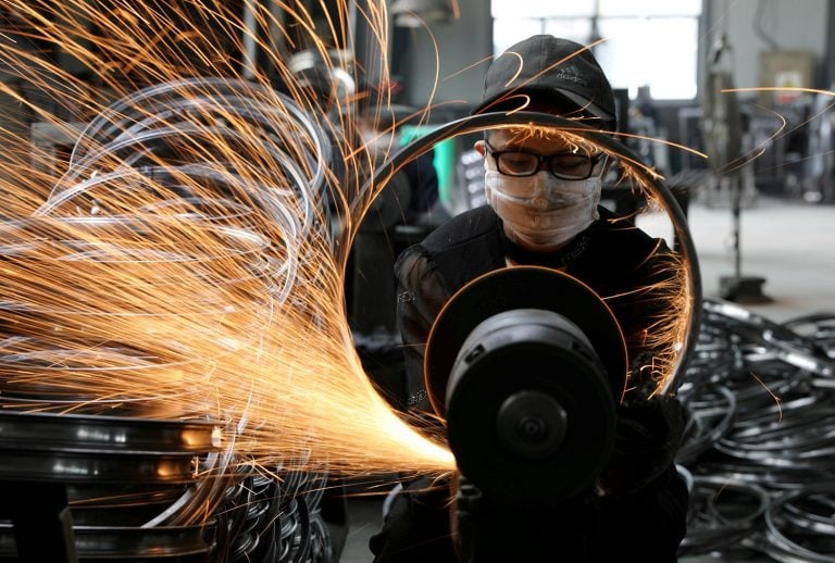 China September factory activity shrinks for fifth month, says PMI survey