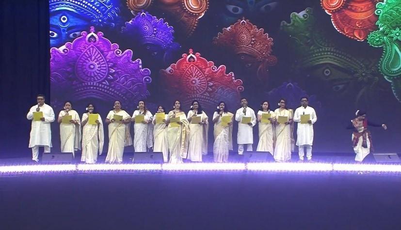 Houston: Artistes perform during the 'Howdy Modi' event at NRG Stadium in Houston. (Photo: IANS/BJP)