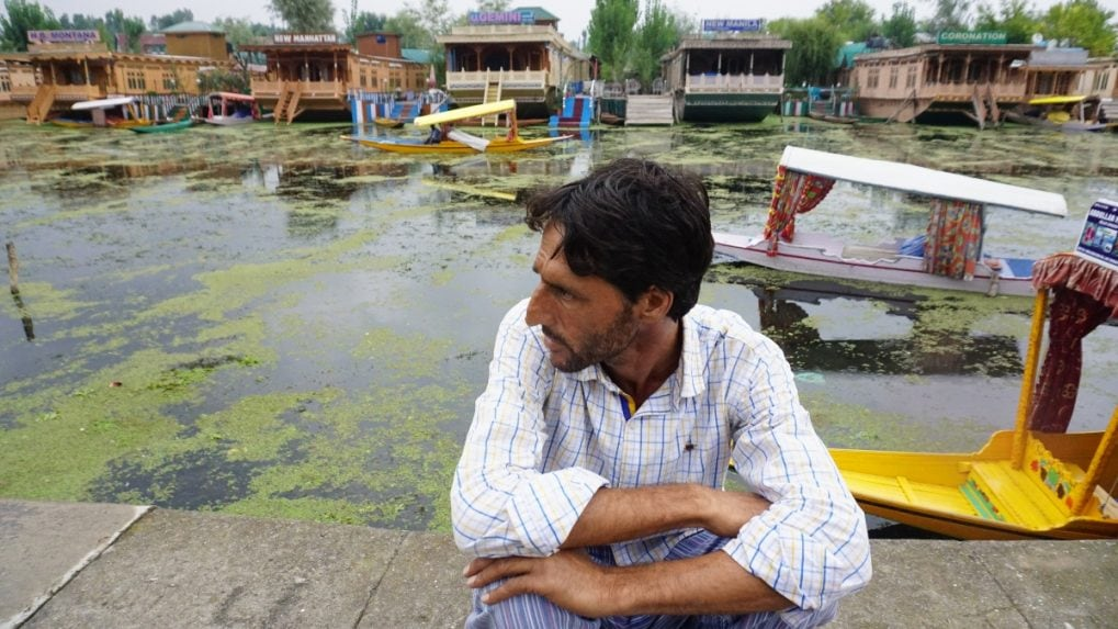 In Pictures: The sorry state of Dal Lake in Kashmir