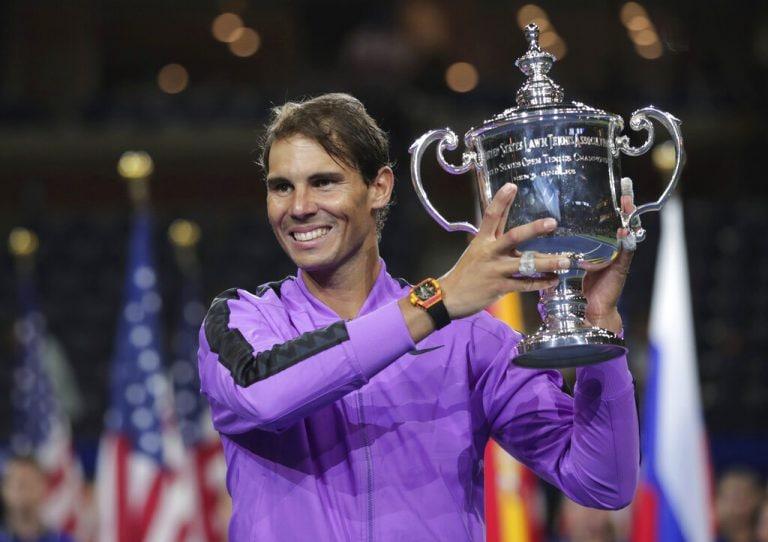 Rafael Nadal stops Daniil Medvedev comeback bid to win US Open, now one Slam behind Roger Federer