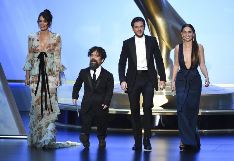 Emmy Awards: Peter Dinklage wins his fourth award for 'Game of Thrones'