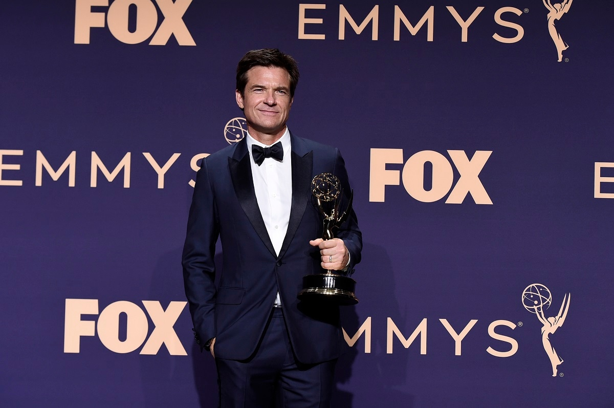 Jason Bateman, the winner of the award for 'Outstanding Directing for a Drama Series' for 'Ozark', poses in the press room at the 71st Primetime Emmy Awards. (Photo by Jordan Strauss/Invision/AP)