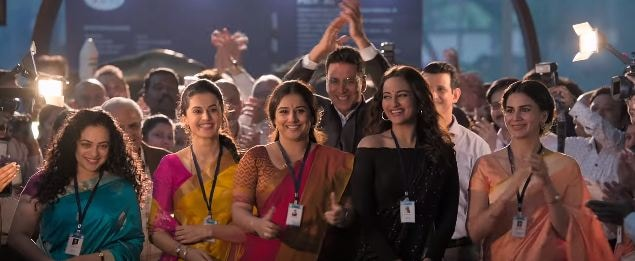 Mission Mangal. Release date: August 15; Budget: Rs 32 crore; Box office collection: Rs 261.86 crore