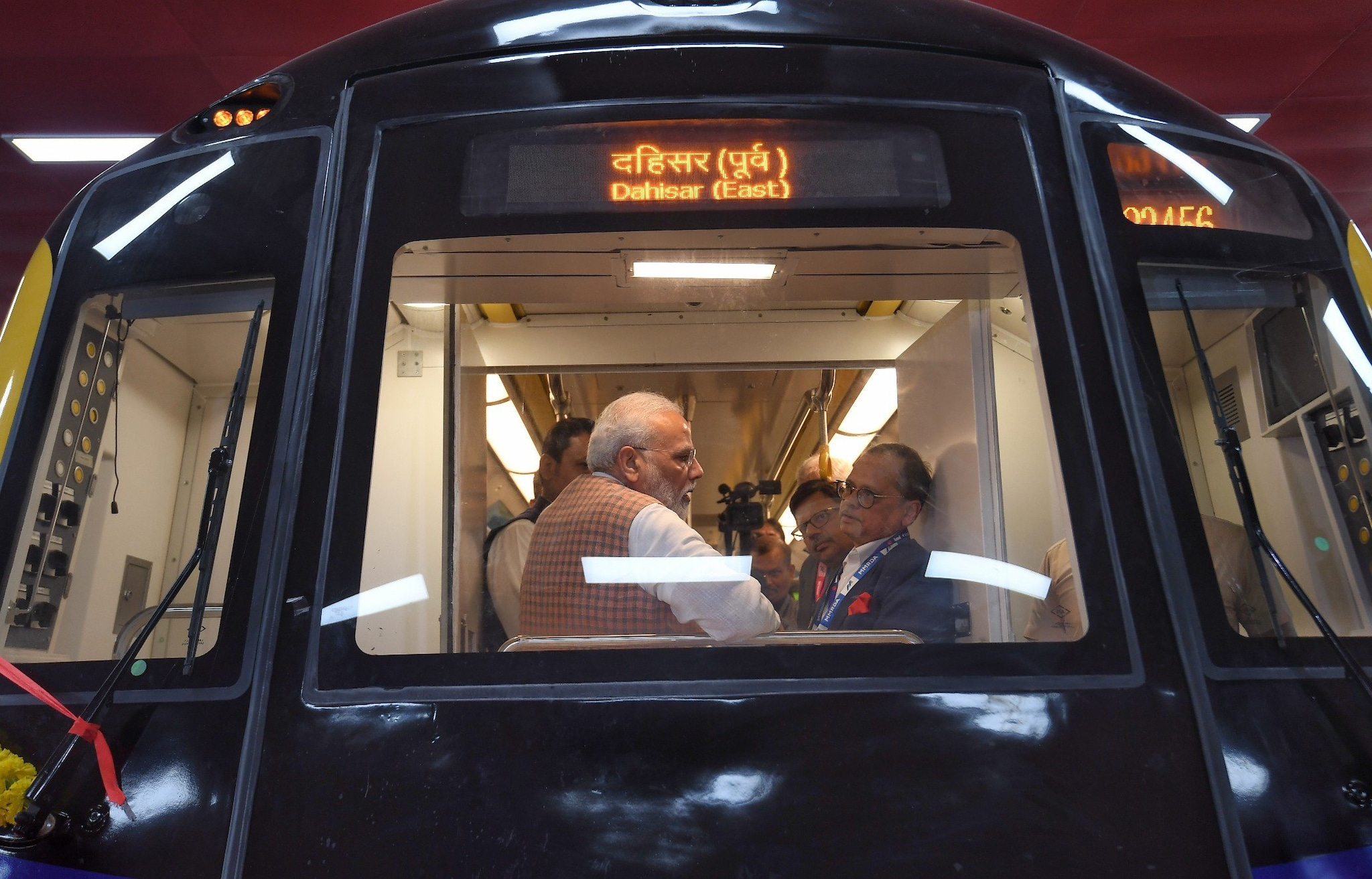 During his visit, which comes ahead of the assembly polls, the dates for which is awaited anytime now, PM Modi will also be laying the foundation for three more metro lines entailing a length of over 42 km and to be built at an investment of over Rs 19,000 crore. (Photo credit: PIB India)