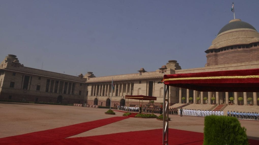 Two Americans held for flying drone over Rashtrapati Bhawan