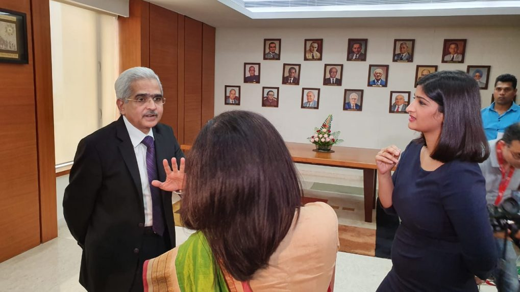 CNBC-TV18 Exclusive: Surprised with 5% growth, says RBI Governor