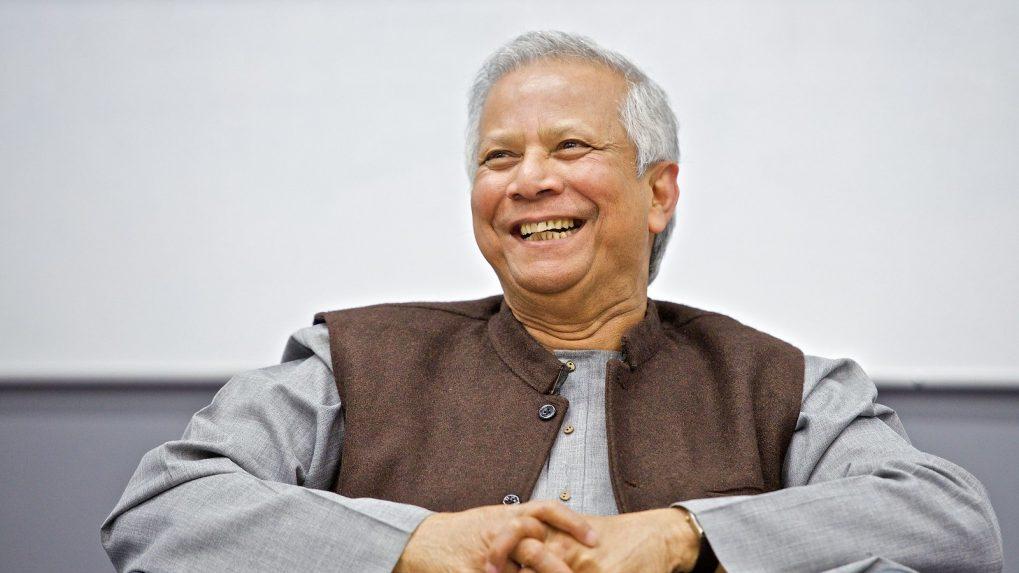 Microcredit helps the rural poor turn entrepreneurs, says Nobel laureate Muhammad Yunus