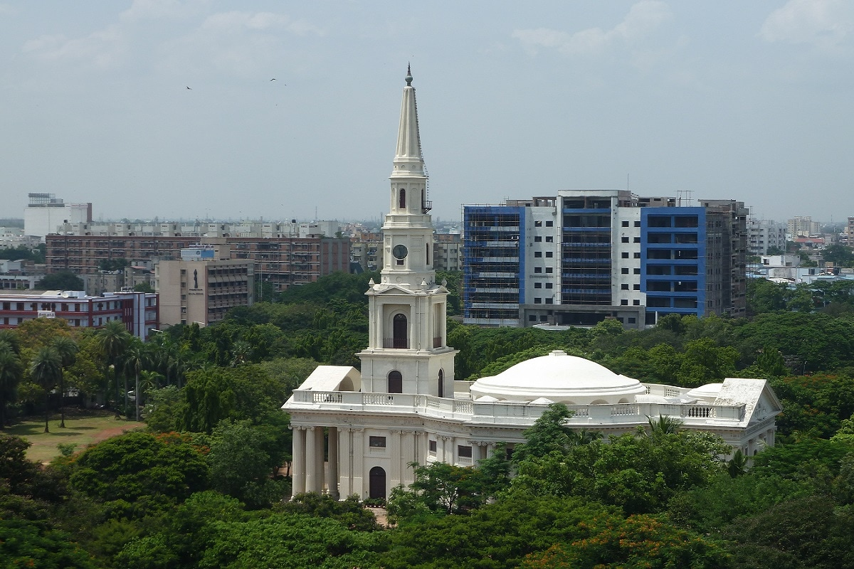5: Egmore, another locality in Chennai ranks fifth with average prices at Rs 15,100 per sq. ft. A significant percentage of premium projects in these markets come with an organic vegetable gardens, organic café, herb garden, and so on. (Image: Wikimedia Commons)