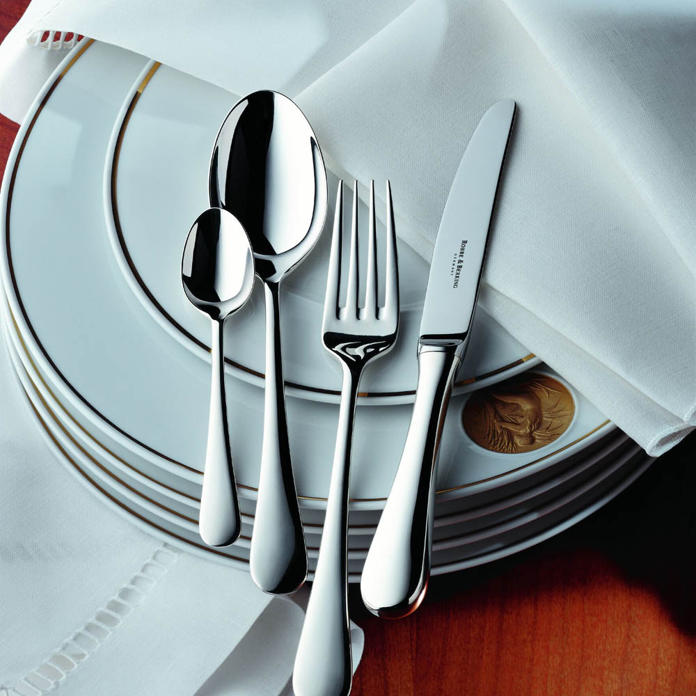 Besides the cutlery, the brand has a range of barware, barbeque cutlery, and the classic '12 Sterling Silver Flatware', inspired by 12mts yachts that epitomized sailing elegance and beauty in the 20th century.
