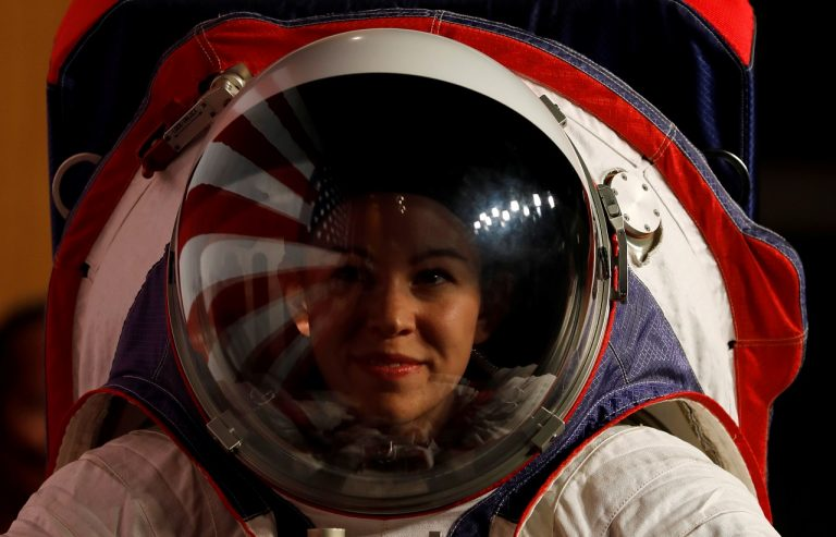 NASA unveils new spacesuit prototypes for missions