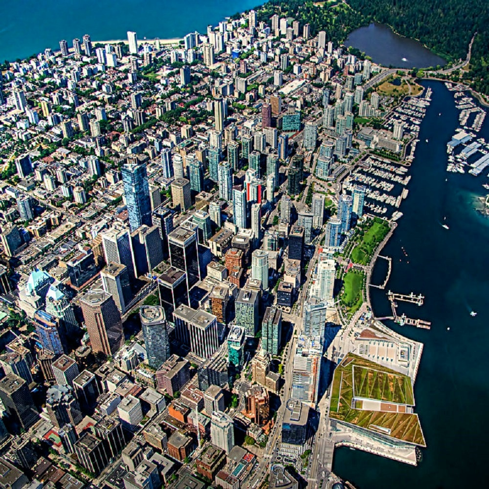 8. Vancouver: Located in Western Canada, the coastal city is famous for the quality of life it offers. (Image: Wikimedia Commons)