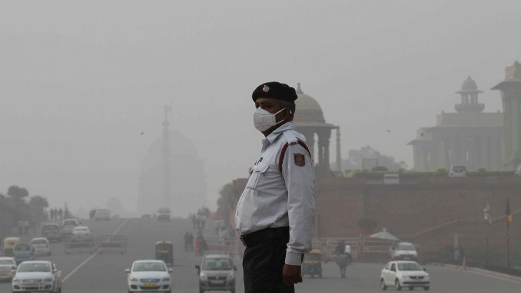 In pictures: Delhi air quality worsens after Diwali as pollution reaches 'hazardous' levels