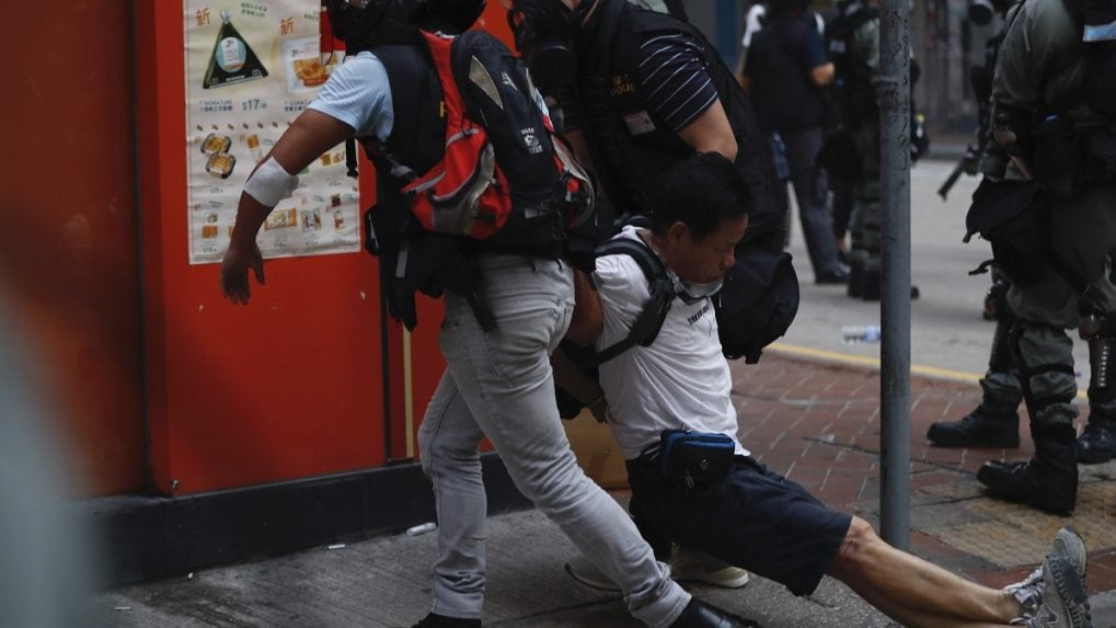 In pictures: A dramatic escalation of violence in Hong Kong