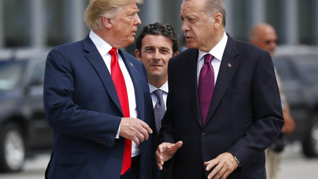 Donald Trump threatens to 'totally destroy and obliterate' Turkey's economy