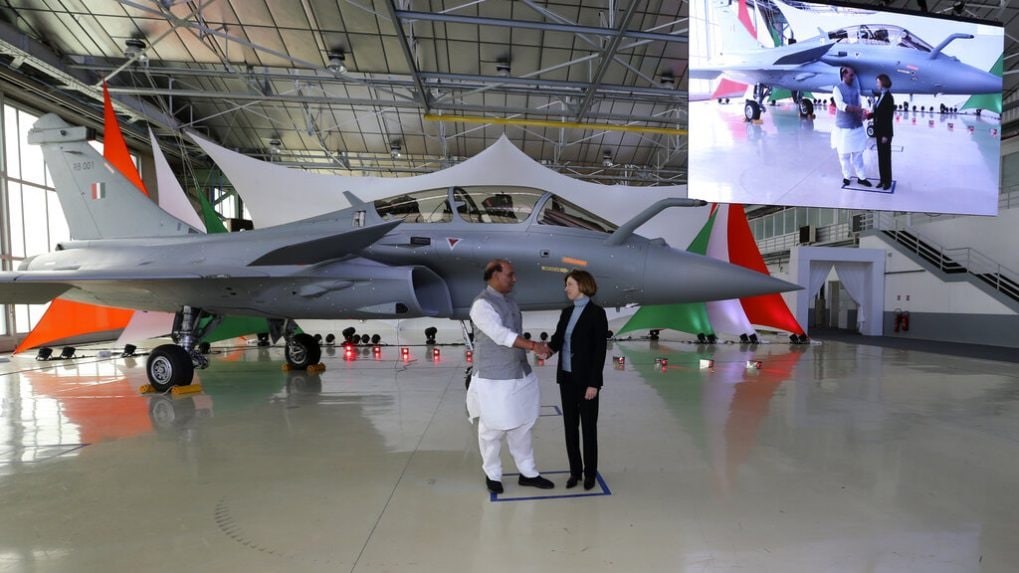 India receives first Rafale fighter jet in France on Dussehra