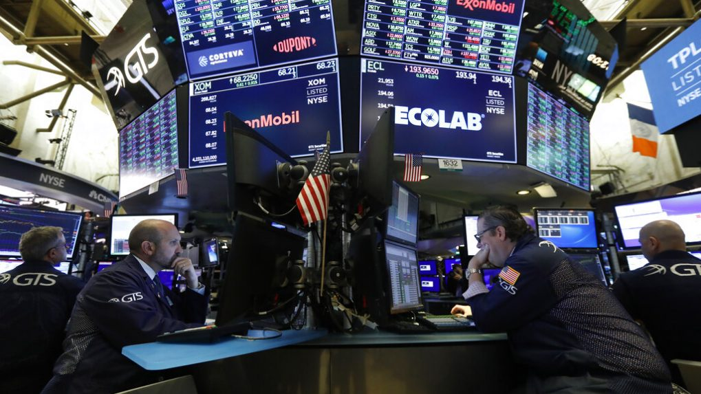 Stock rally stalls, oil and dollar march higher on trade hopes