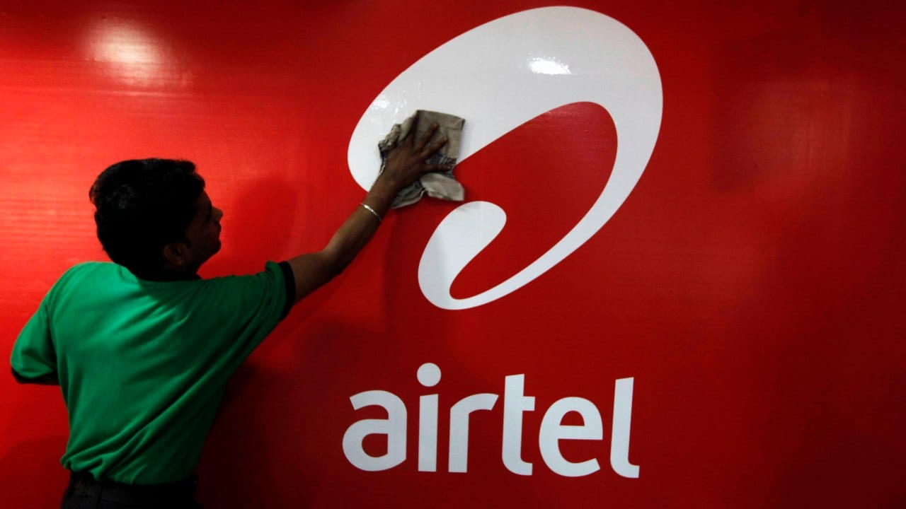 Bharti Airtel's share price rose 10 percent to its 52-week high of Rs 486. (Image: Reuters)