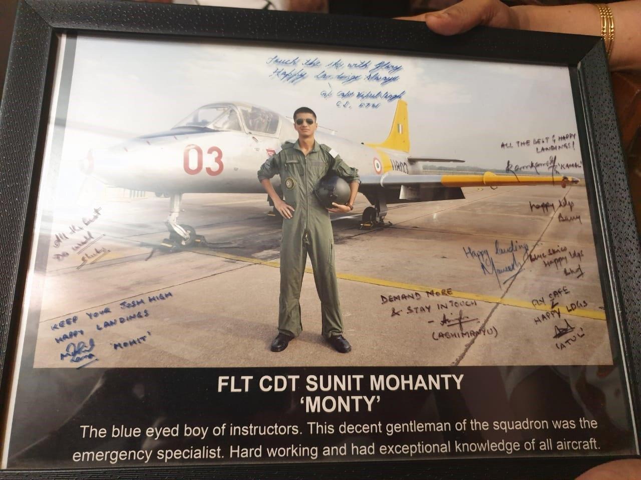 Flight Lieutenant Sunit Mohanty
