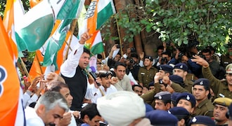 Bhupinder Singh Hooda counters BJP's nationalism pitch, says Pakistan split into two under Congress rule