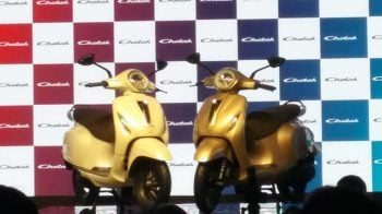 Bajaj Chetak scooter comes back in an all new electric avatar
