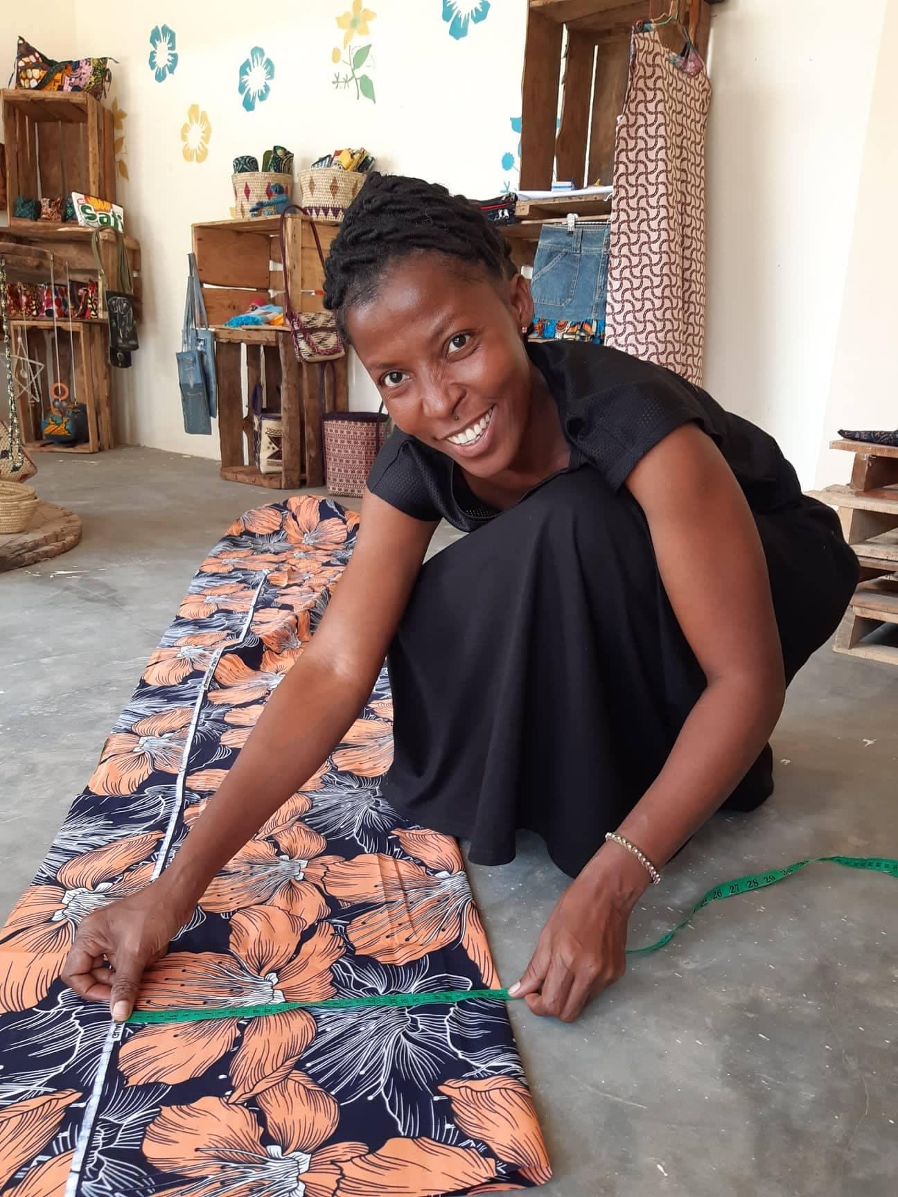 Marjut's colleague and Wifi Zanzibar's co-founder Jen