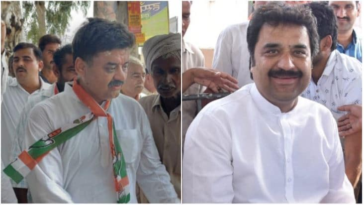 Kuldeep Bishnoi and Chander Mohan: Both the sons of former chief minister late Bhajan Lal have been fielded by the Congress party. Kuldeep Bishnoi from Adampur in Hisar, and his brother and former deputy chief minister Chander Mohan from the Panchkula seat which he earlier represented. (Image: Social Media)