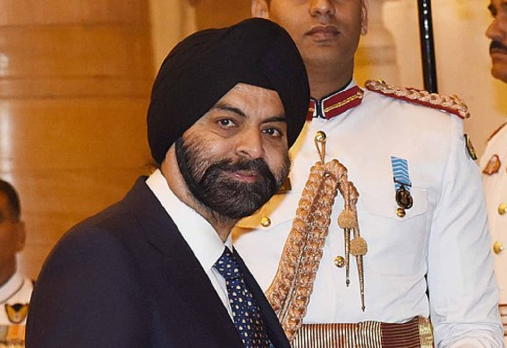 7: Ajay Banga:  The Indian-American business executive is the president and chief executive officer (CEO) of Mastercard.  (Image: Wikimedia Commons)