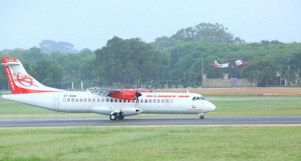 New international airport opens connecting Jaffna and Chennai after 40 years