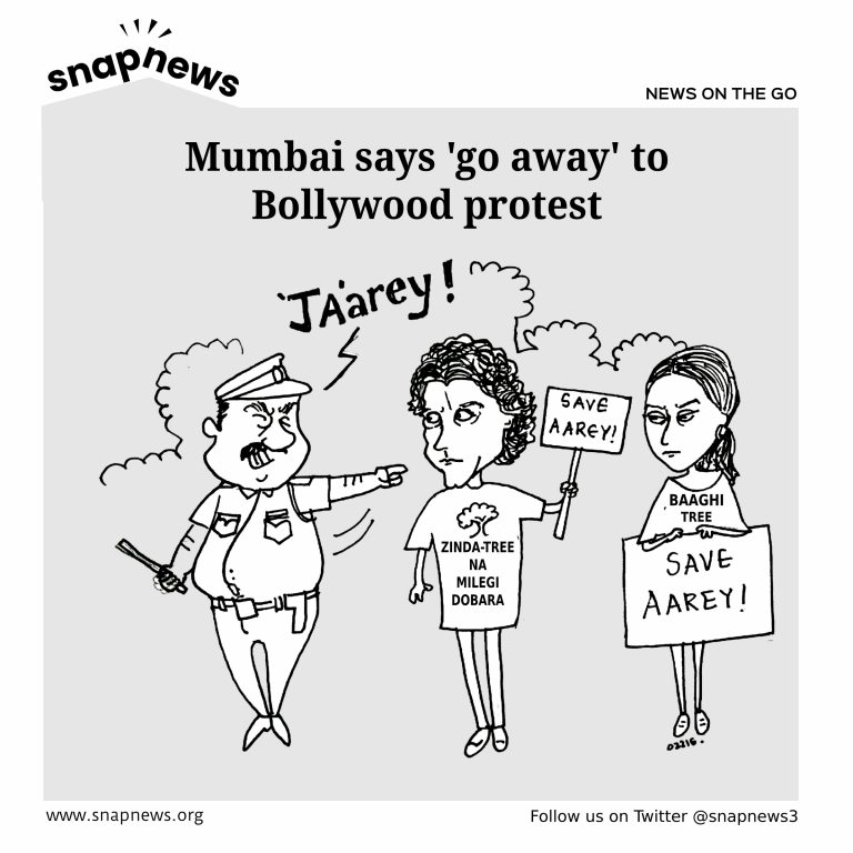 Aarey Protest: Mumbai says 'go away' to Bollywood protest
