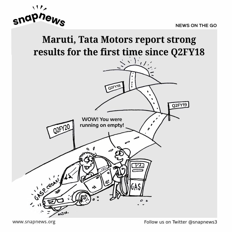 Maruti Suzuki, Tata Motors report strong results for the first time since Q2FY18