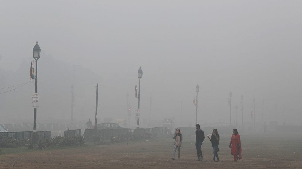 Combating air pollution in New Delhi with Chinese caveats