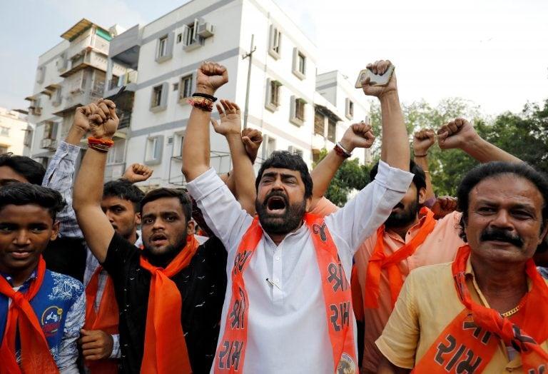 Ayodhya verdict: Police detain dozens over social media posts, celebrations