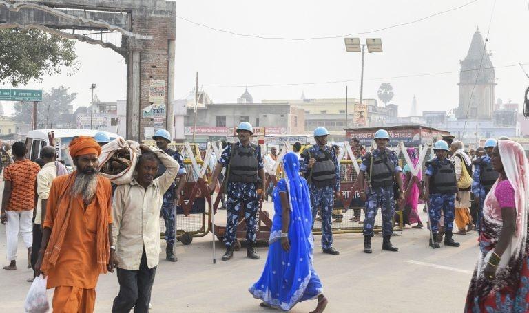 Ayodhya verdict: 6 SRPF companies deployed in Vadodara