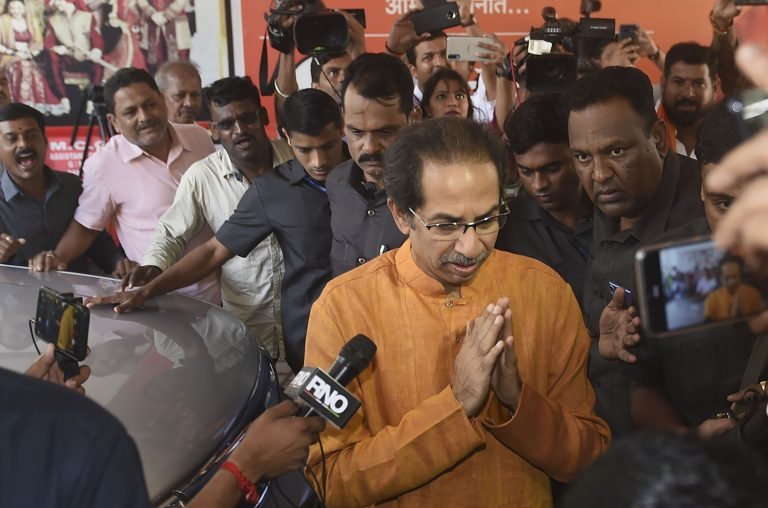 Shiv Sena allotted seats with the opposition in Parliament after Maharashtra fallout