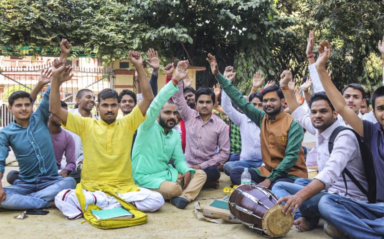 Students who protested Muslim professor teaching Sanskrit know little about BHU or Varanasi