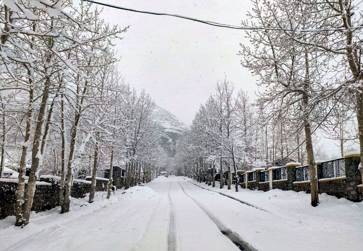 Tourist destination Kufri and Narkanda, some 65 km from here, experienced mild snowfall that melted soon. (PTI Photo)