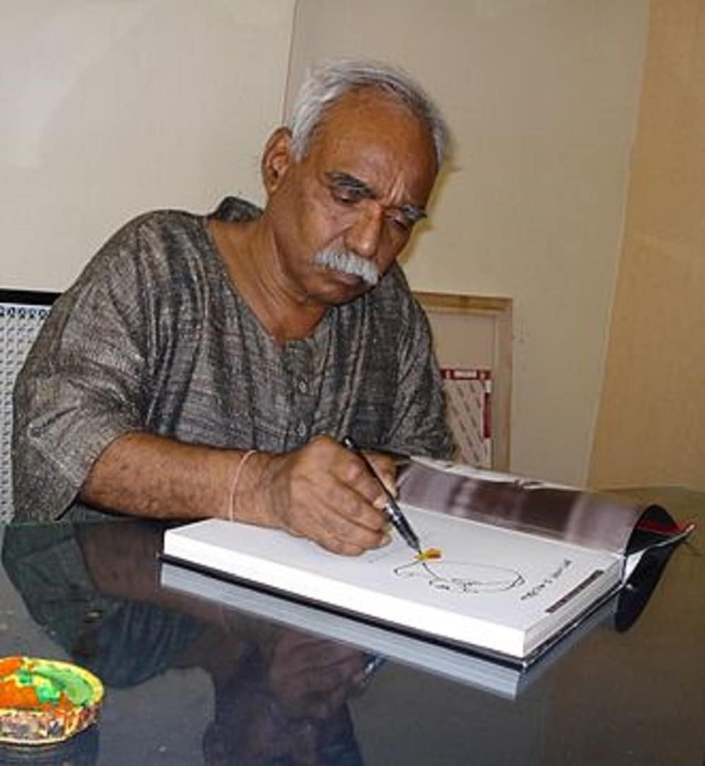 9: Painter and sketcher Thota Vaikuntam is ninth in the list after the sale of his 26 works fetched Rs 3.53 crores. (Image Source: Wikimedia Commons)
