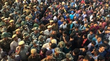 JNU students protesting over steep fee hike clash with police; minister stuck in campus for over 6 hours