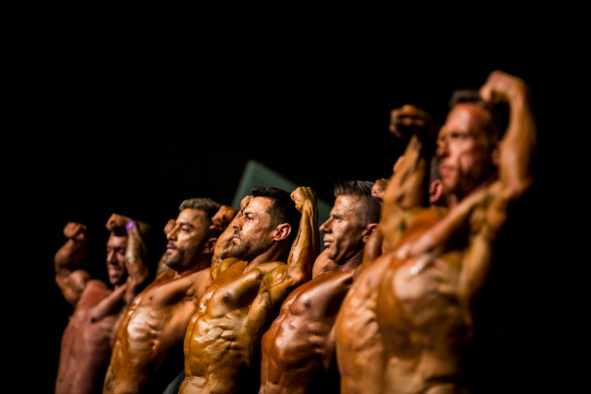 This year's 51st edition, organized by the Spanish Bodybuilding Federation, drew more than 500 contestants from across the country. It took place over two days. (AP Photo/Javier Fergo)